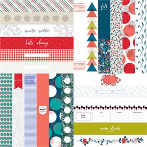 "Picture of Happy Life 2"" Border Strips - Set 12"